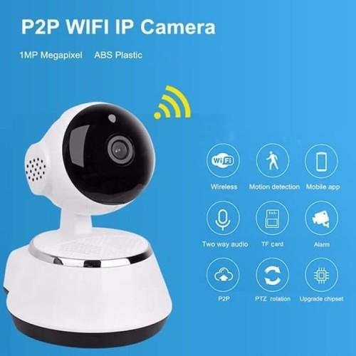 Foto Produk Smart Camera - IP CAM CCTV V380 Wifi/Wireless HD720P dari smarthomeid