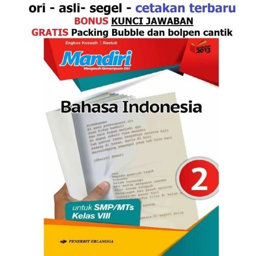 Jual Buku Mandiri Erlangga Bahasa Indonesia Kelas 8 Smp Kunci Jawaban Kab Tangerang Sahabat Buku Anak Tokopedia