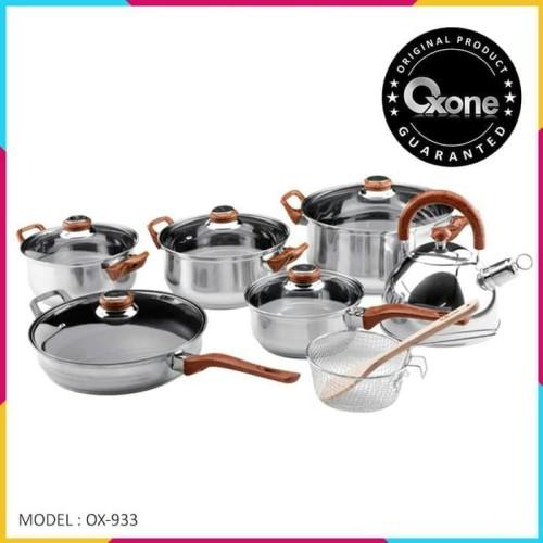 Foto Produk OXONE OX-933 Panci Eco Cookware Set Oxone 12+2Pcs - PANCI OXONE dari Bintang_Dapur