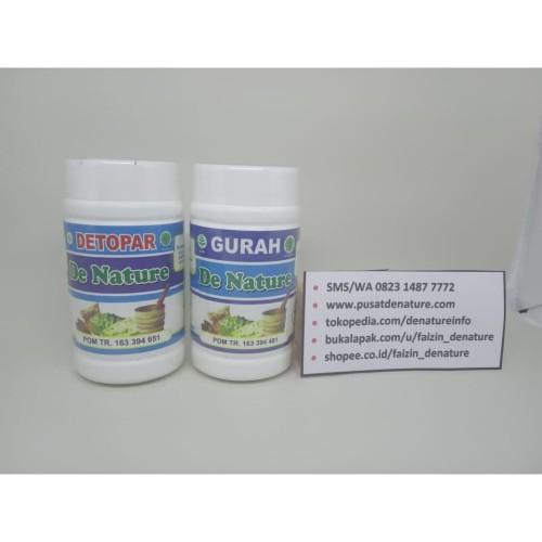 Foto Produk Obat Gurah Dan Detopar Pembersih Paru Paru De Nature Herbal dari Pusat De Nature Herbal