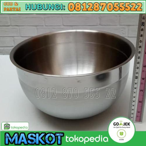 Foto Produk MIXING BOWL Terbaik SUPRA 25 CM (Wadah Mangkuk mixer adonan kue) dari MASKOT