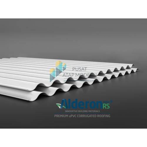 Foto Produk Alderon RS Atap uPVC Single Layer Tipe Roma (Gelombang Bulat) dari Alderon Polycarbonate