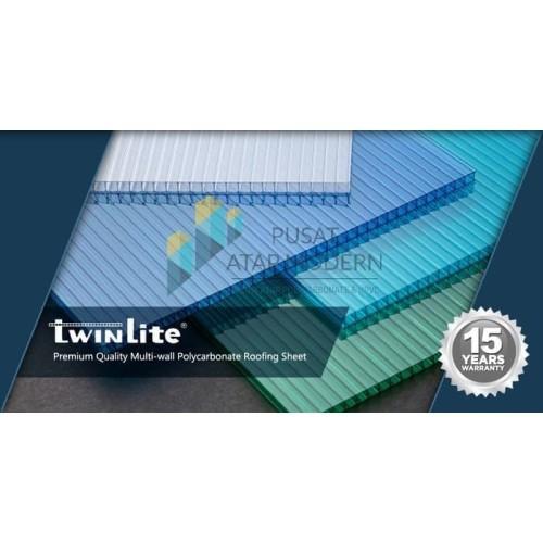 Foto Produk Twinlite 5mm Atap Polycarbonate - Garansi Resmi 15 Tahun dari Alderon Polycarbonate