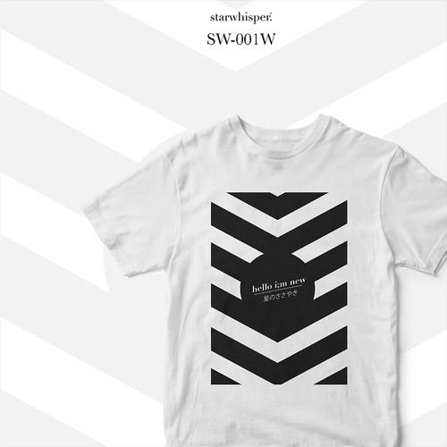 Foto Produk STARWHISPER Newcomers T-Shirt - im new - Putih, L dari STAR WHISPER