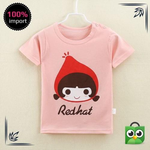 Jual Murah Kaos T Shirt Perempuan Lucu Lengan Pendek Gambar Kartun Keren Jakarta Utara Arkan Shop1 Tokopedia
