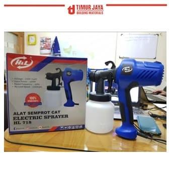 Foto Produk HL ELECTRIC Spray Gun Paint Zoom Mesin Cat Semprot Elektrik mollar ryu dari TOKO BESI TIMUR JAYA