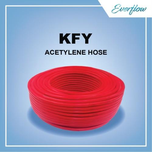 Foto Produk Selang Gas Asetilena / Selang Las KemanFlex 3/8 inch dari Toko Everflow