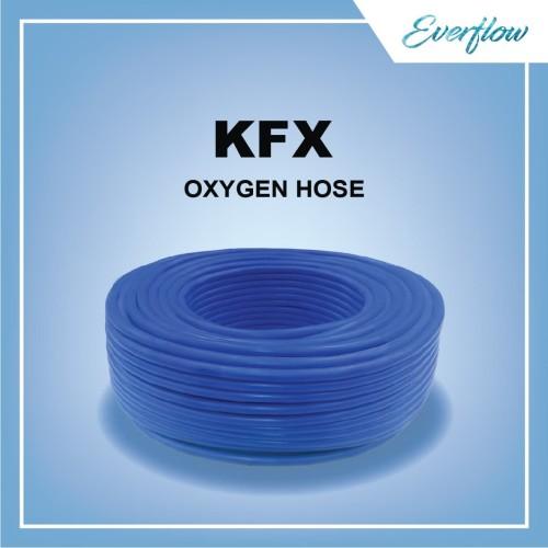 Foto Produk Selang Gas Oksigen Las Kemanflex 1/4 inch Blue dari Toko Everflow