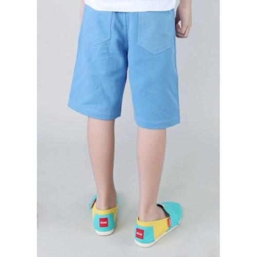 Foto Produk Apparel Boy Pants WAKAI KIDS APP01806 BERMUDA Blue - S dari Wakai Official Store