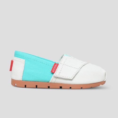 Foto Produk Sepatu Anak Laki-laki Slip On Kohai By Wakai VB11810 NEON TOSCA GREY - 30 dari Wakai Official Store