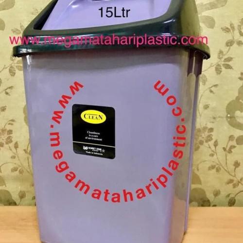 Foto Produk Tempat Sampah 15 Ltr (Tutup Goyang) dari Khairiyah Haifa0