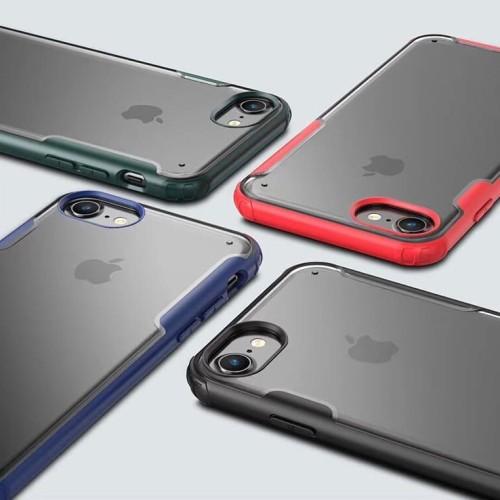 Foto Produk Case iPhone 6 / 6s / 7 / 8 ( Plus ) Fuze Anti Crack Baby Skin Casing - Hijau, NON PLUS dari Pine Premium Gadget Acc