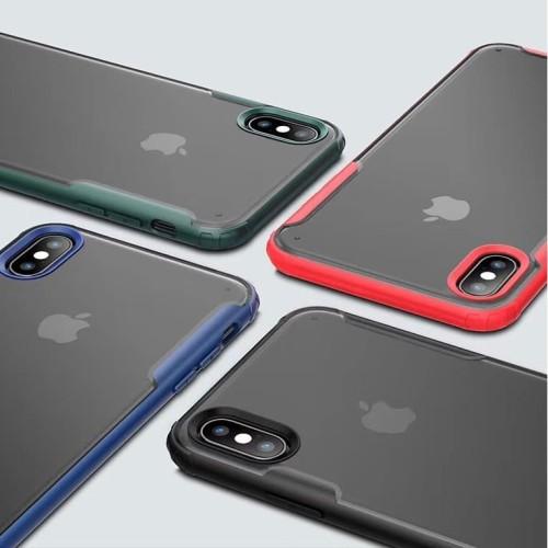 Foto Produk Case iPhone X / Xs / Xr / Xs Max Fuze Anti Crack Baby Skin Casing - Hijau, Xs Max dari Pine Premium Gadget Acc