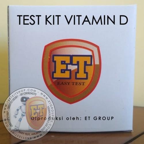 Foto Produk Test Kit Vitamin D Kualitatif merk ET dari easytest