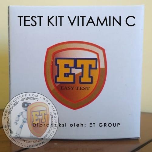 Foto Produk Test Kit Vitamin C Kualitatif dari easytest