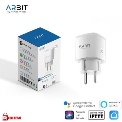 Foto Produk Arbit Smart Wifi Plug With Energy Monitoring dari Ridista Official Store