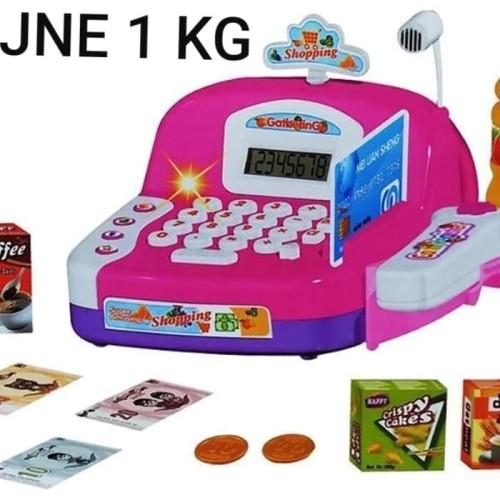 Foto Produk mainan kasir kasiran LS820A18 cash register kasir checkout supermarket dari Howell toys