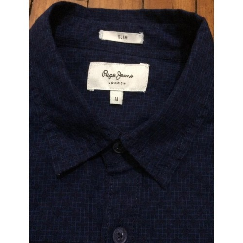 Jual Unik Kemeja Merk Pepe Jeans Original Size M Biru Navy Baru Dan Jakarta Utara Popeshop123 Tokopedia
