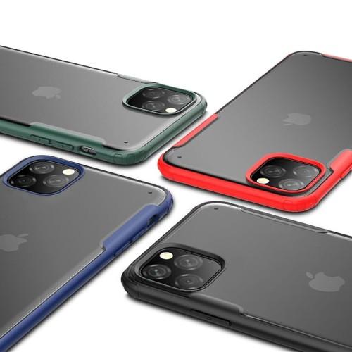 Foto Produk Case iPhone 11 11 Pro 11 Pro Max X Xs Xr Xs Max 6 6s 7 8 Plus Casing - Merah, Xr dari Pine Premium Gadget Acc
