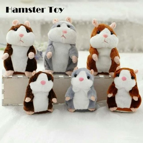 Foto Produk Boneka Hamster Bisa Bicara Ngomong Talking Hamster Toy Lucu dari Raja Online Accesories
