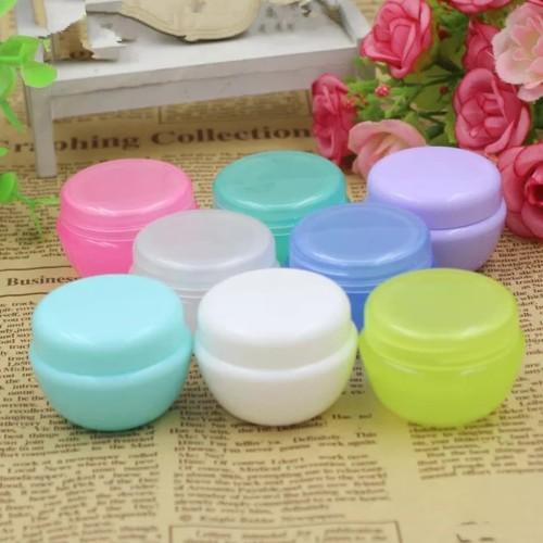 Foto Produk Pot Cream 10g/Jar 10 g/Tempat Krim 10gr/Wadah Salep 10 gr - Hijau dari Syah-House