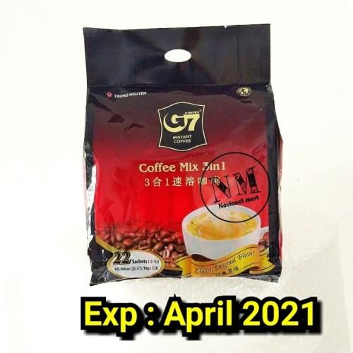 Foto Produk Coffee G7 / Coffee trunguyen / Coffee g7 / Coffee mix 3in1 dari Noviandi1.