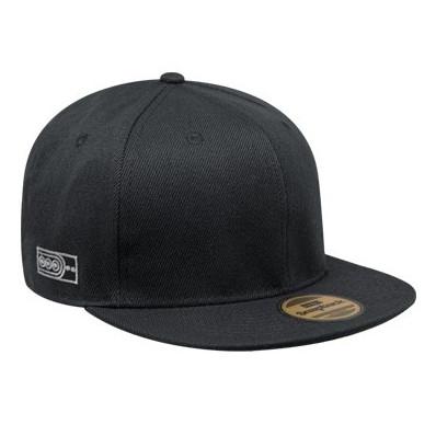 Foto Produk Snapback Topi Hiphop Polos Custom ( Black ) - Orange dari Snapback