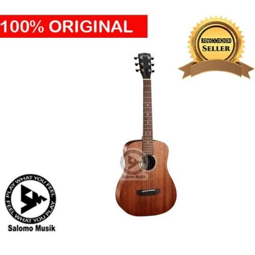 Foto Produk gitar akustik string 3/4 merk grande BROWN GOLD NATURAL GW125NS dari Salomo Musik