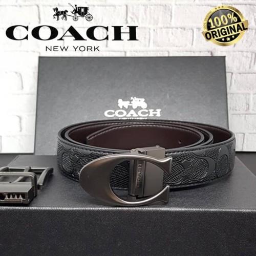 Foto Produk COACH Sculpted Cut-to-Size Reversible Belt Sig Leather 100% AUTNETIC! dari Fashion&LifeStyle