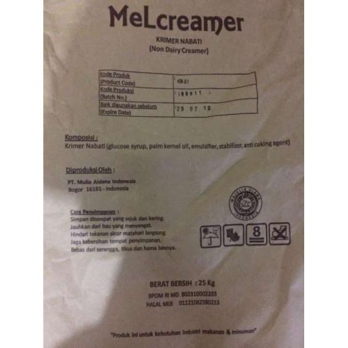 Foto Produk MELCREAMER KR01 1KG NDC KRIMER BEST SELLER dari foodsupply.co