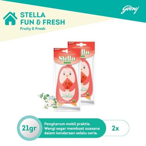 Foto Produk Stella Fun n Fresh - Fruity n Fresh 2pcs dari Godrej Indonesia Store