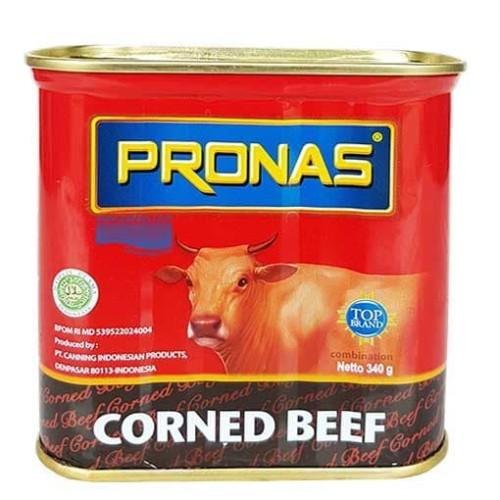 Foto Produk Pronas Corned Beef Kornet Sapi 340Gr Murah dari darilynn