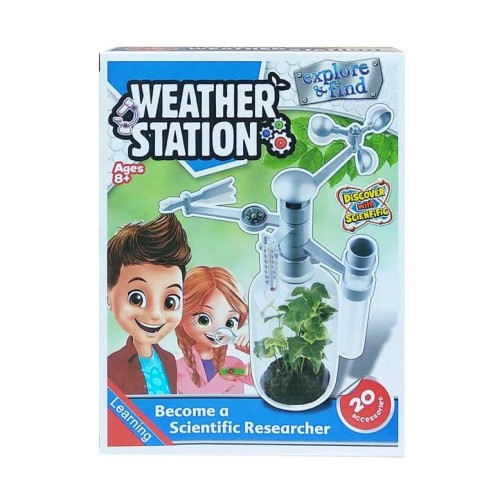Foto Produk MAINAN EDUKASI EKSPERIMEN IPA SCIENCE CUACA WEATHER STATION dari D'Best Toys