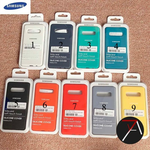 Foto Produk Samsung Galaxy S10Plus S10 Plus Silicone Full Cover Soft Case Original dari 17 Agustus