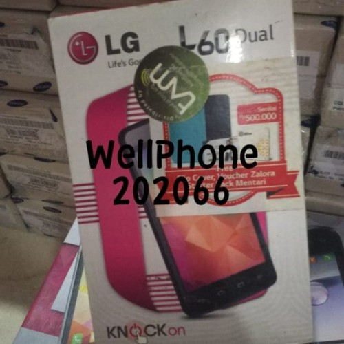 Foto Produk LG L60 L 60 DUAL ORIGINAL RESMI TAM ERAJAYA JAKARTA dari Wellphone Shop