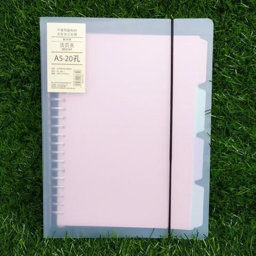 Foto Produk Binder File A5 Transparan Tali dari Dante