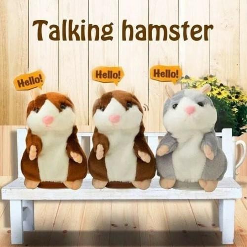 Foto Produk Talking Hamster/Mainan Boneka Hamster Bisa Bicara dan Bergerak dari Cen store acc
