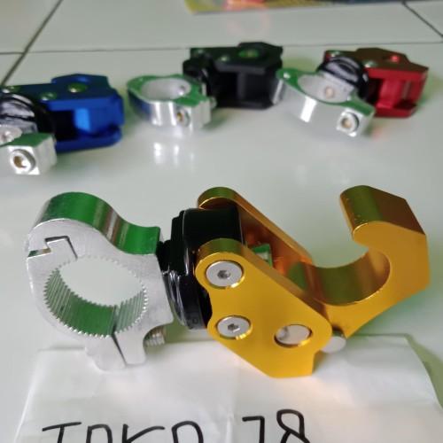 Foto Produk Gantungan Barang Lipat accesories motor NMAX PCX AErox Vario Mio dari Toko_78_ motor