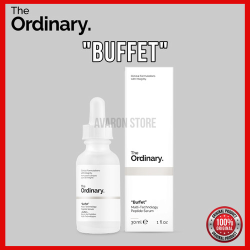 "Foto Produk THE ORDINARY ""BUFFET"" SERUM 30 ml dari Avaron Store"