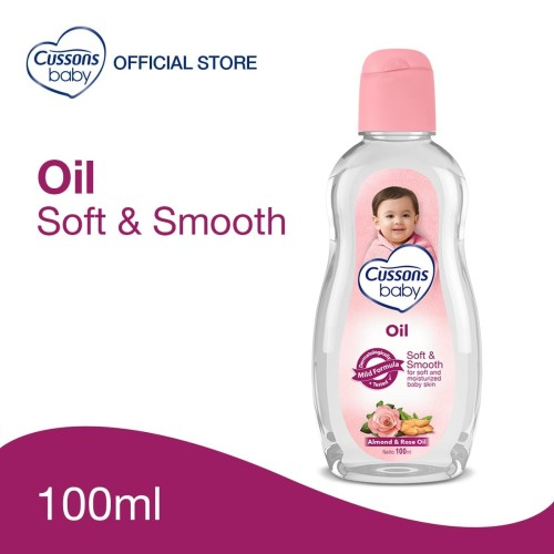 Foto Produk Cussons Baby Oil Soft & Smooth 100ml dari Cussons Official Store