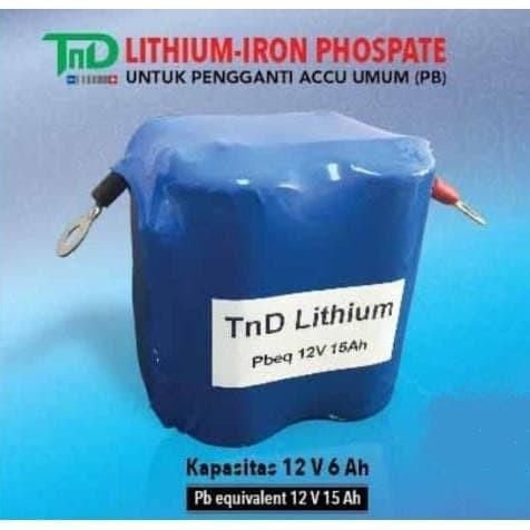 Foto Produk Accu Aki Motor Lithium Iron Phospate dari Sentra Aki