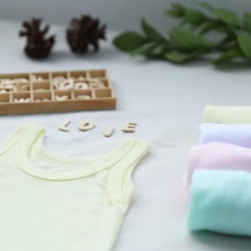 Foto Produk CUIT Kaos Dalam Anak Singlet Bayi - Paket 3 Warna - Size Newborn dari shinta store23