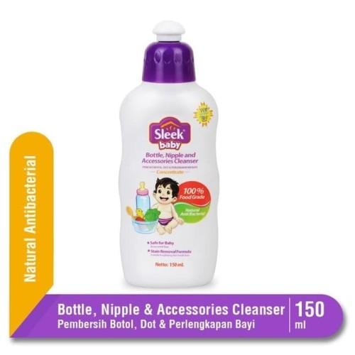 Foto Produk Sleek Baby Pencuci Botol 150ml / Pembersih Peralatan Bayi dari Tokopedia Baby Shop