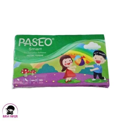 Foto Produk PASEO Smart Facial Tissue Travel Pack 50 Sheets dari BAYININJA