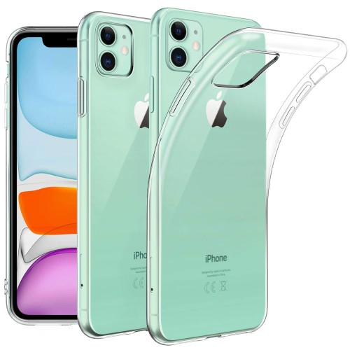 Foto Produk Slim TPU Case iPhone 11 - 6.1 Original Clear Soft Bening Cover Casing dari Logay Accessories