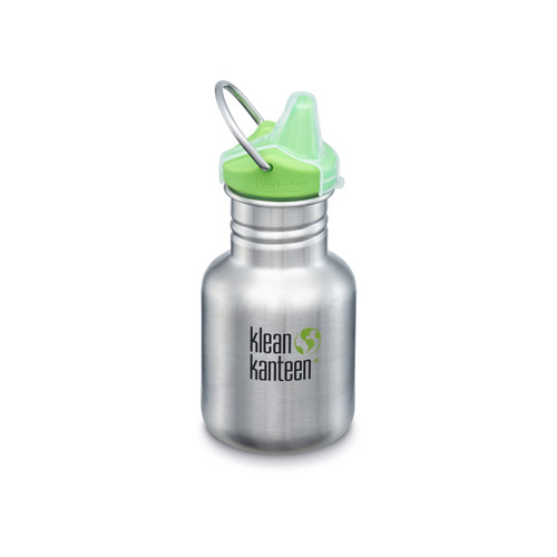 Foto Produk BPA FREE - KLEAN KANTEEN -Kid Classic Sippy Cap 355 ml - Stainless dari Mrs Organic
