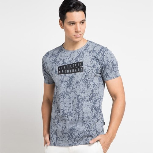Foto Produk Cressida Printed T-Shirt G226 - Biru, XL dari Cressida The Next Level
