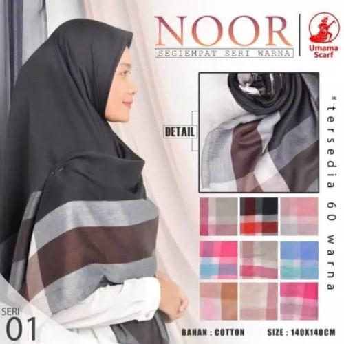 Foto Produk Hijab jilbab segi empat syari (jumbo) noor syar'i by umama dari Sa'adah Hijab Fashion