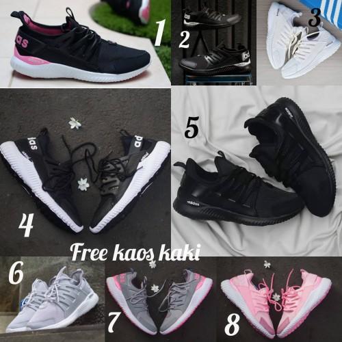 Foto Produk Adidas Alphabounce size 36 - 40 sepatu wanita olahraga running sekolah - Satu, 36 dari eno ajjh
