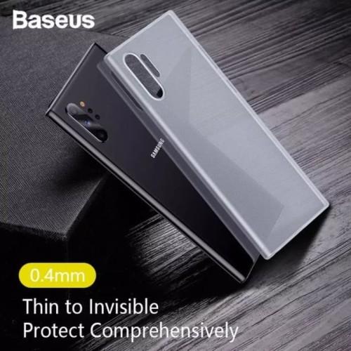 Foto Produk Samsung Note 10 Plus Baseus Wing Series Slim Case Dove PC Ultra Thin dari Fashion Lover Acc